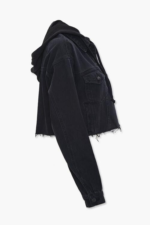Denim Hooded Jacket, image 2