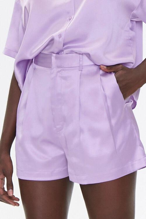 Satin Shirt & Shorts Set, image 6