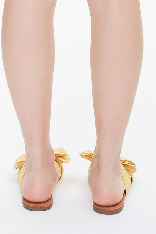 Dual Bow Flat Sandals, image 3
