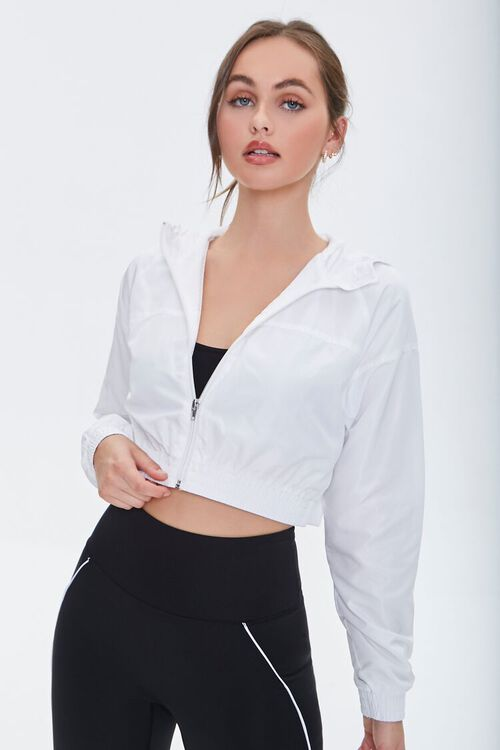 Active Hooded Zip-Up Jacket, image 1