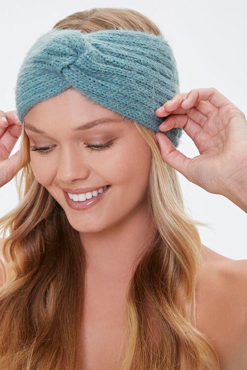 Fuzzy Twisted Headwrap, image 1