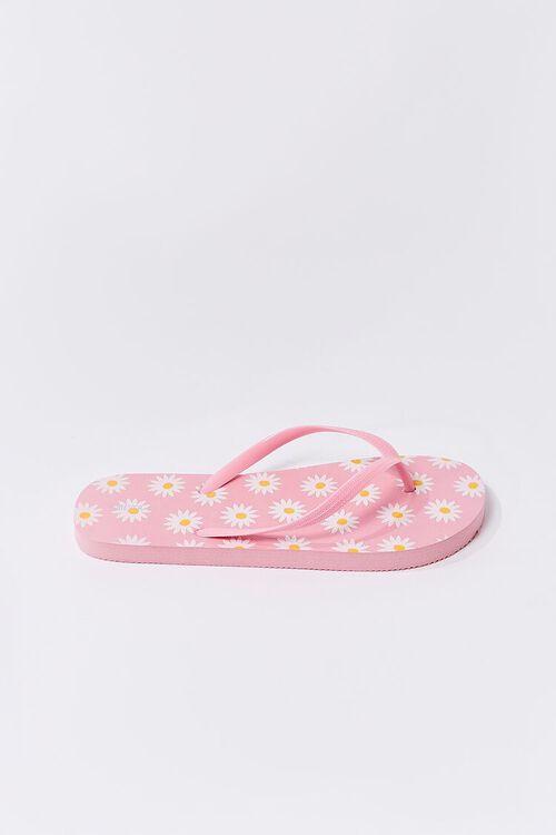 Daisy Print Flip-Flops, image 2