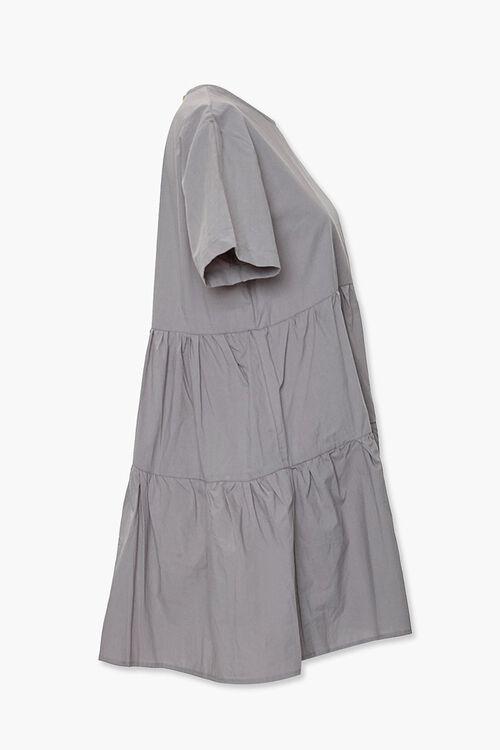 Flounce Shift Mini Dress, image 2