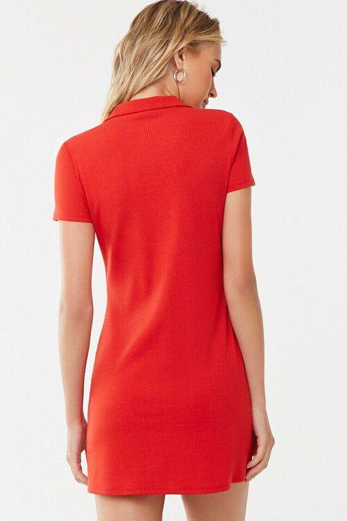 Button-Front Mini Dress, image 3
