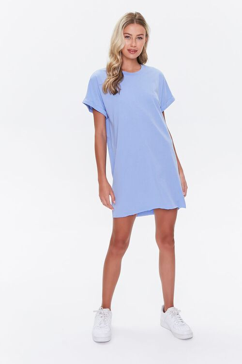 Cuffed T-Shirt Dress, image 4