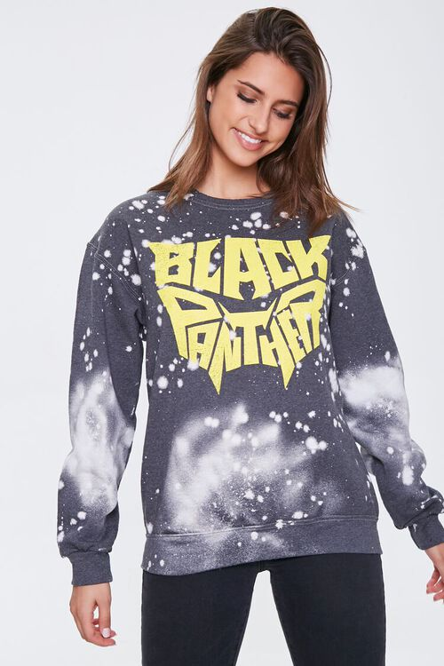 BLACK/MULTI Black Panther Graphic Pullover, image 1