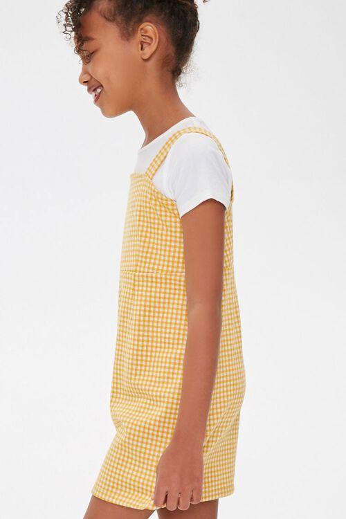 Girls Gingham Plaid Dress (Kids), image 2