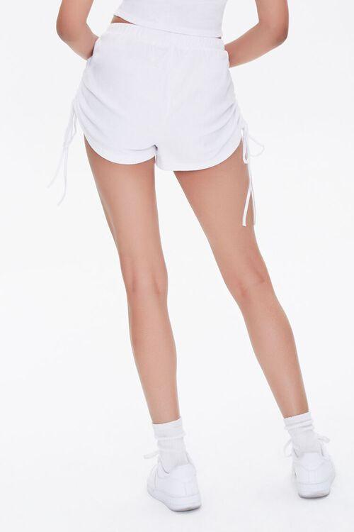 Ruched Drawstring Shorts, image 4