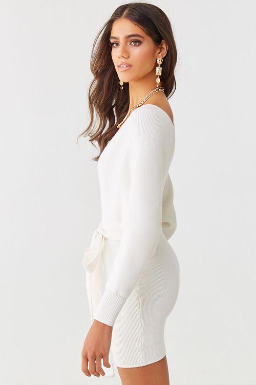 Faux Wrap Mini Dress, image 2
