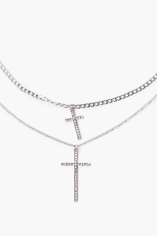Cross Pendant Necklace Set, image 1