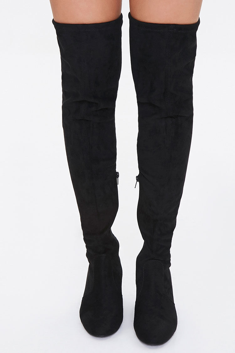Over-the-Knee Sock Boots