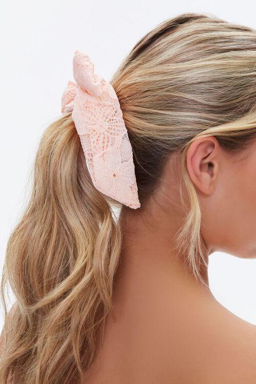 Lace Bow Scrunchie, image 2