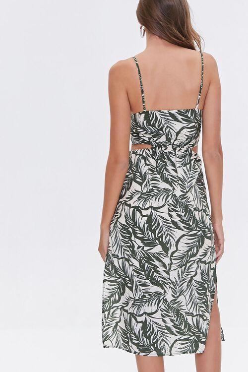 Tropical Print Cutout Dress, image 3