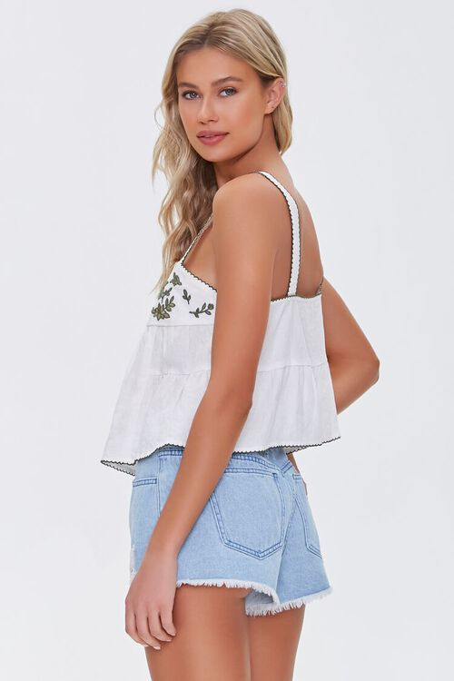 Embroidered Linen Top, image 2