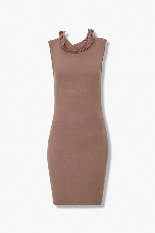Face Covering Bodycon Dress, image 1