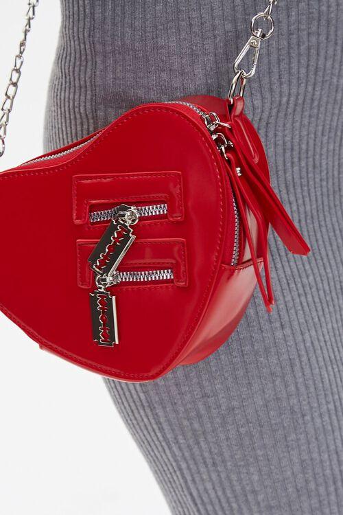 Heart-Shaped Crossbody Bag, image 2