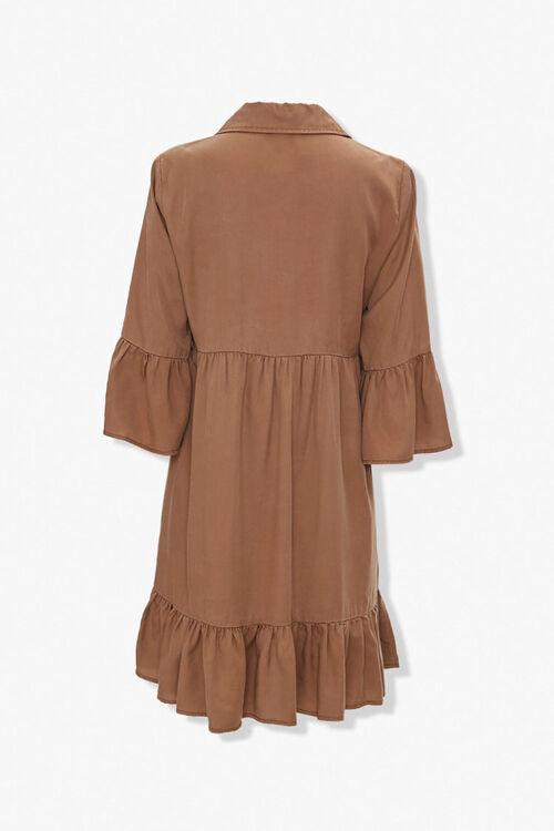 Flounce-Trim Mini Dress, image 2