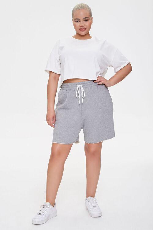 Plus Size Boyfriend Sweatshorts, image 5