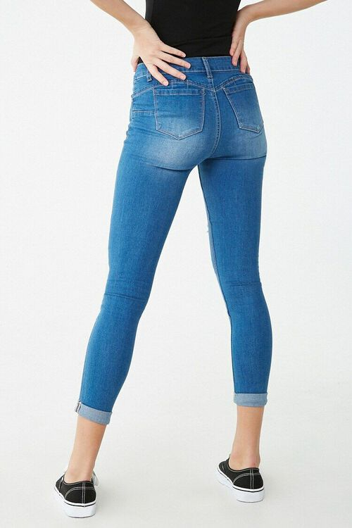Distressed Mid-Rise Jeans, image 3