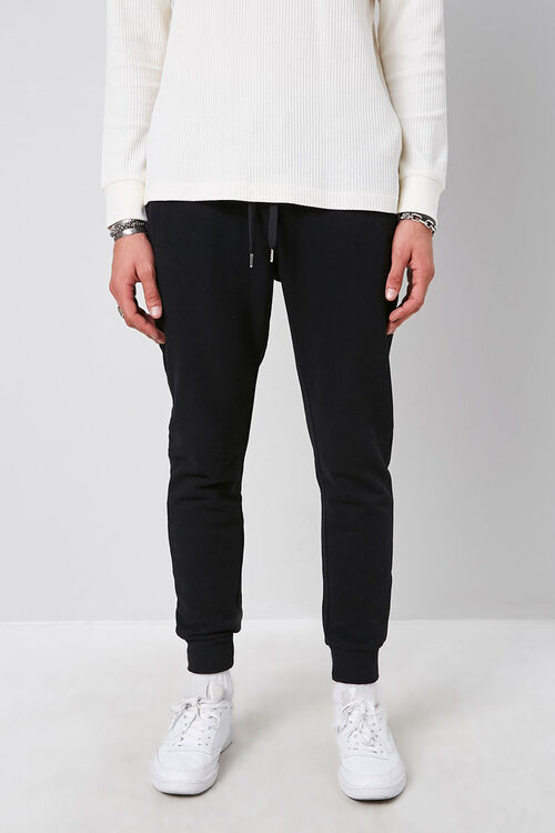 French Terry Knit Joggers, image 2