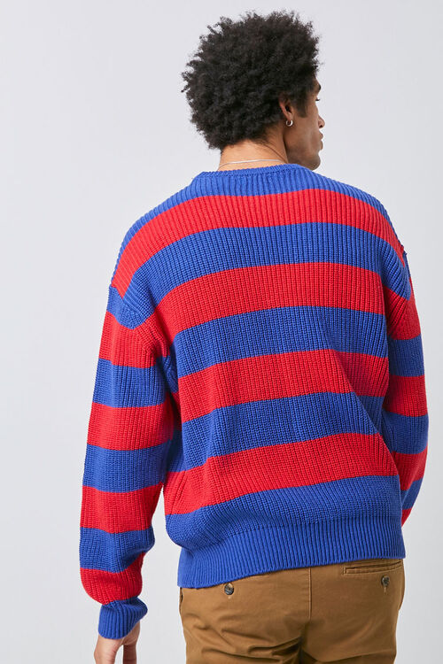 Ribbed Striped Sweater, image 4