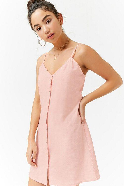 Linen Cami Dress, image 1