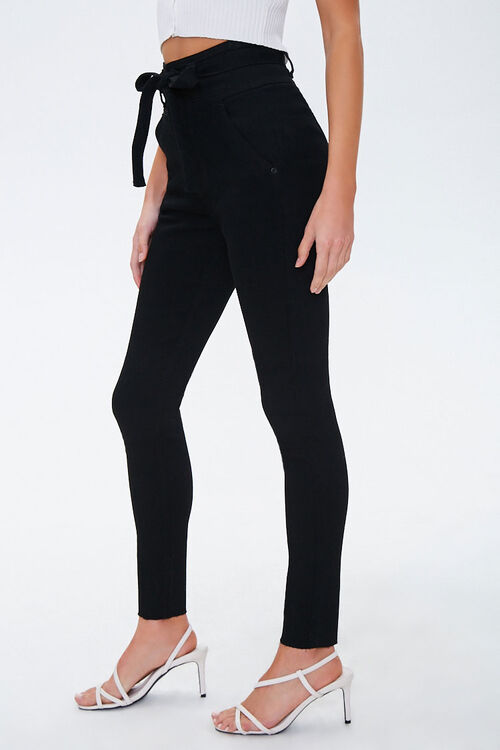 Frayed High-Rise Skinny Jeans, image 2