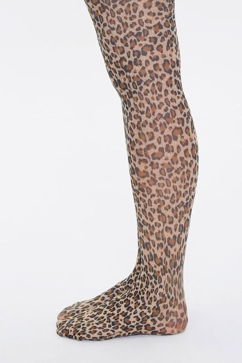 Leopard Print Tights, image 2