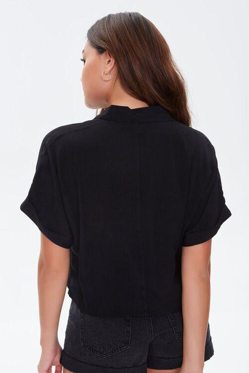 Crepe Boxy Pocket Shirt, image 3