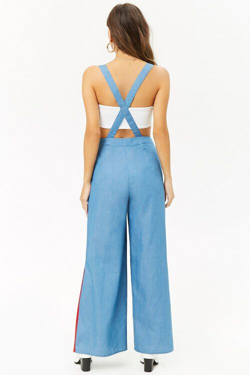 Chambray Suspender Pants, image 3
