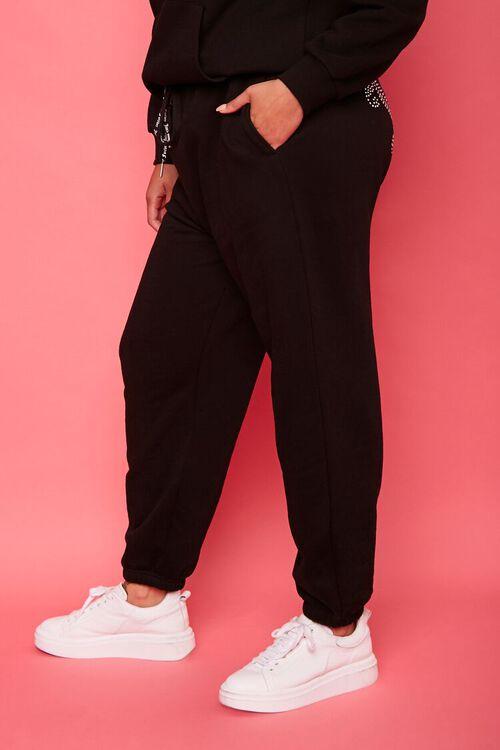 Plus Size Juicy Couture Fleece Joggers, image 4