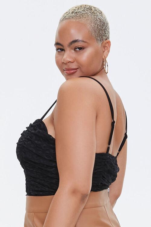 Plus Size Lace Sweetheart Bodysuit, image 2