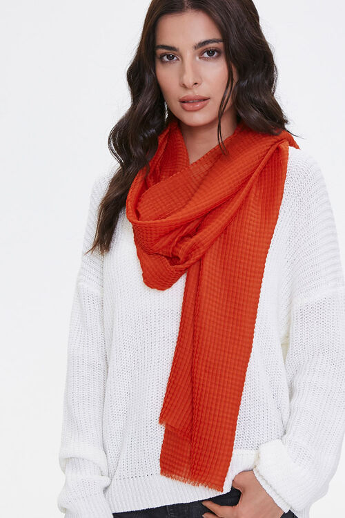 Textured Oblong Scarf, image 1