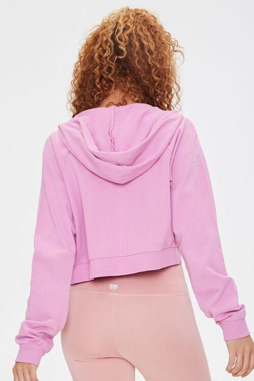 VIOLET Active Fleece Zip-Up Hoodie, image 3
