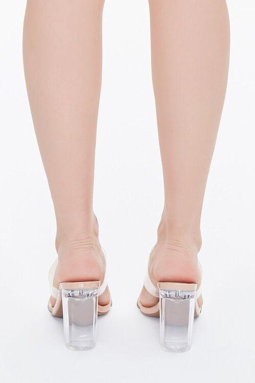 Transparent Lucite Block Heels, image 3