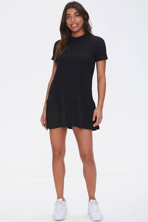 Ruffle-Trim Shift Dress, image 4