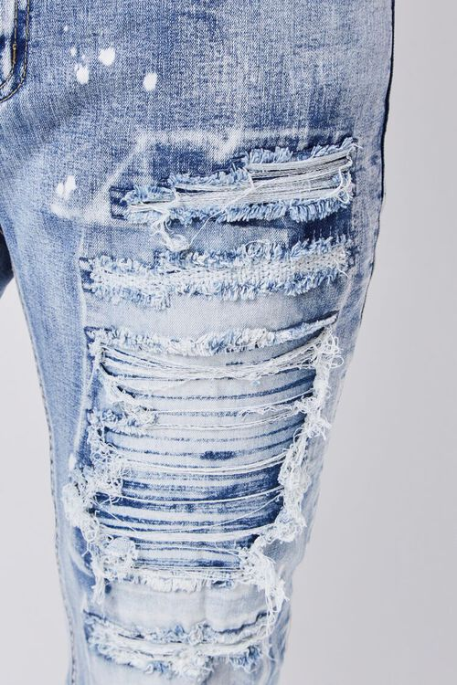 Distressed Paint Splatter Jeans, image 5