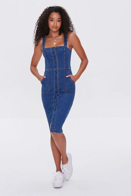 Denim Bodycon Dress, image 4