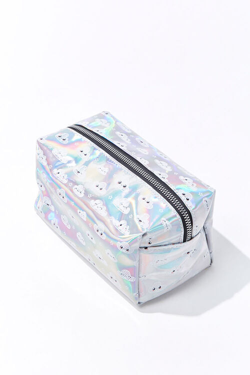 Iridescent Cloud Makeup Bag, image 3