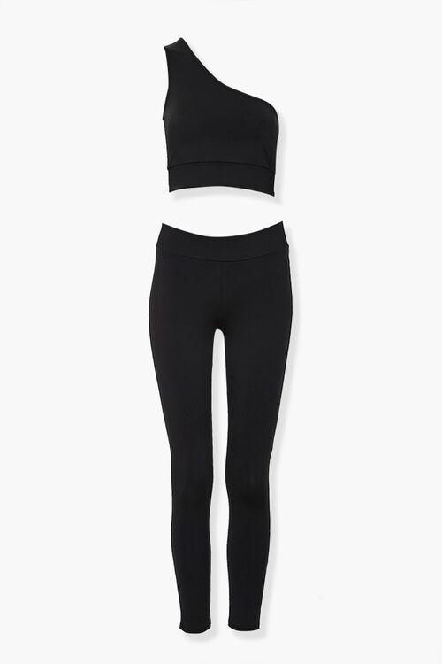 Active Crop Top & Leggings Set, image 1