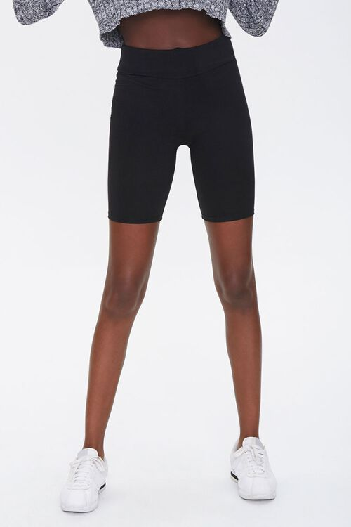 High-Rise Biker Shorts, image 2