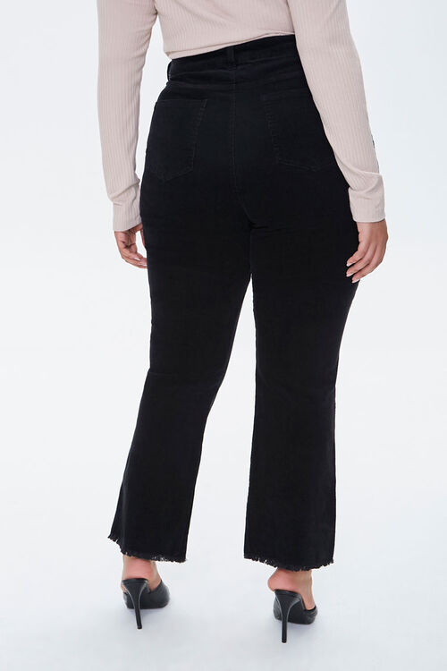 Plus Size Frayed Ankle Pants, image 4