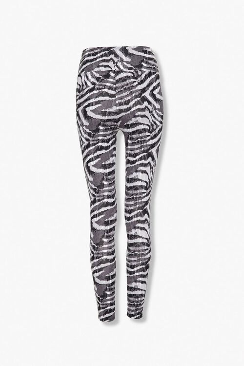 Active Zebra Print Leggings, image 2