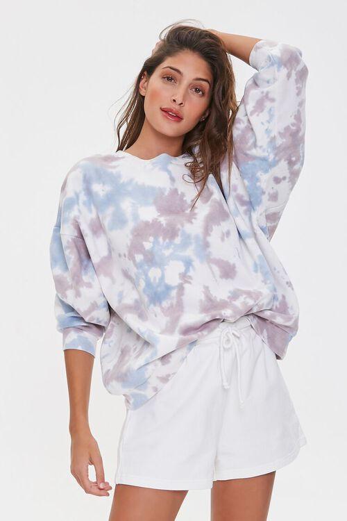 Fleece Tie-Dye Pullover, image 1