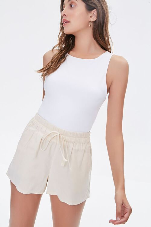 Drawstring Relaxed-Fit Shorts, image 1