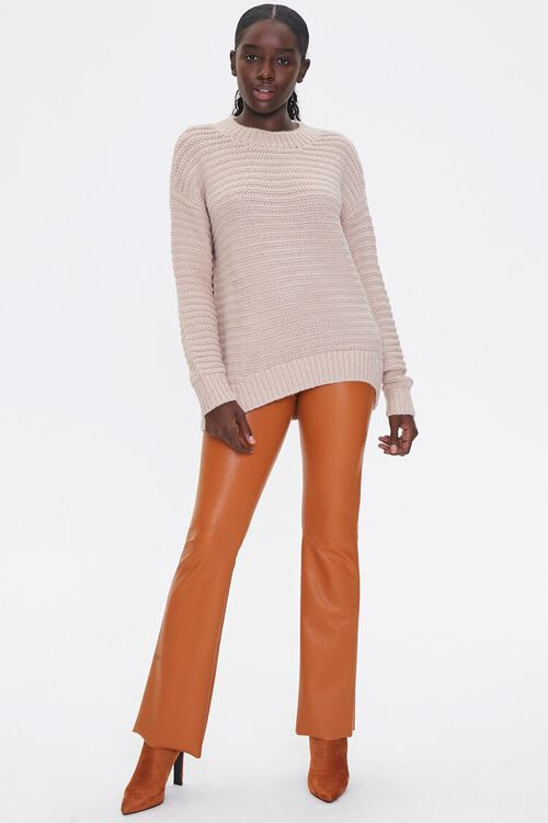 Ribbed Drop-Sleeve Sweater, image 4