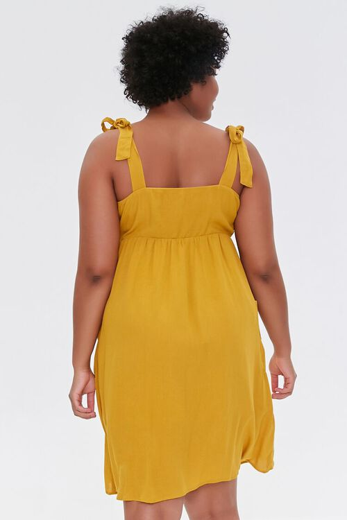 Plus Size Embroidered Floral Mini Dress, image 3