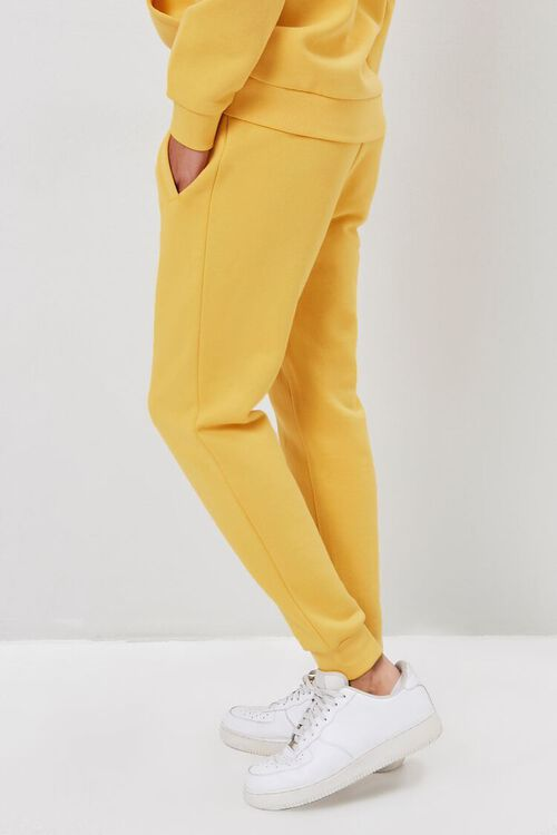 Drawstring Fleece Joggers, image 3