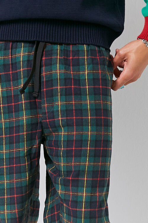 Plaid Drawstring Pants, image 5