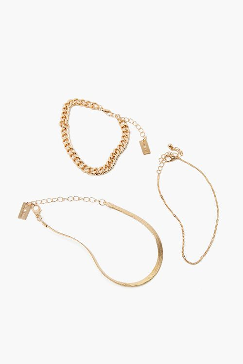 Chain Bracelet Set, image 1